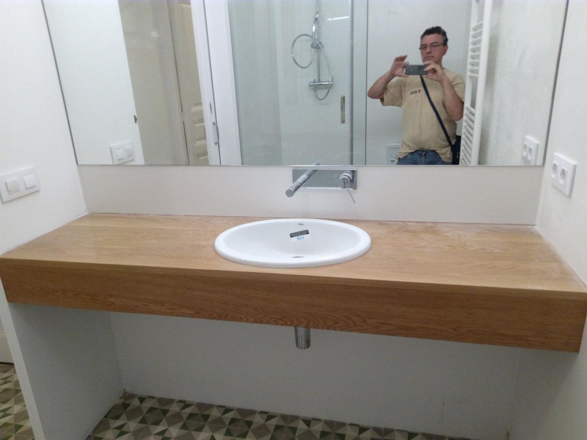 Lavabos con mueble baratos perfect ambiente con mueble de for Amazon lavabos