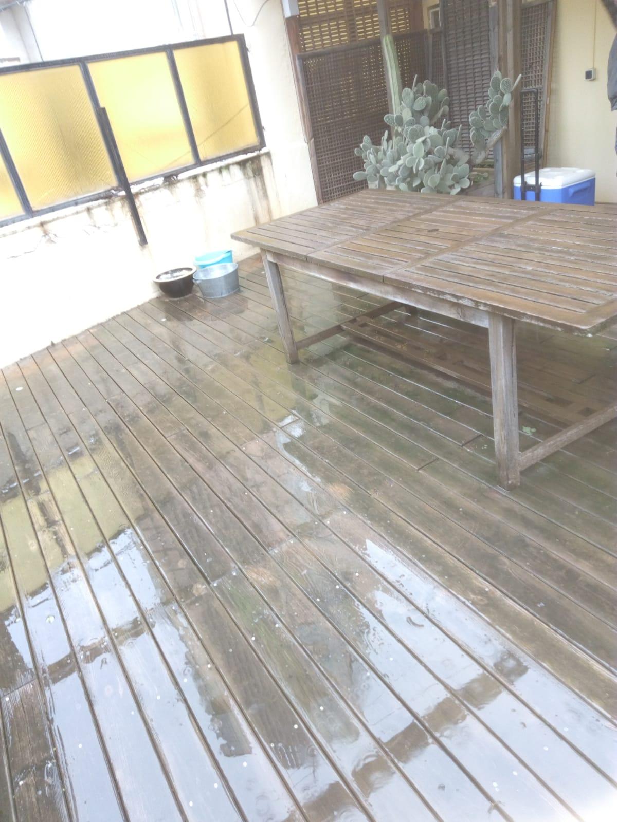 suelo madera terraza
